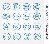 game ui buttons   set of vector ...