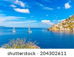 Sailing Boats Enter In The...