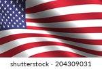 usa flag background   Shutterstock . vector #204309031