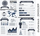 corporate infographic resume...