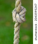 Rope Ring Knot Hanging On...
