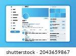 design concept for twitter...