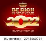 vector elite greeting card be... | Shutterstock .eps vector #2043660734