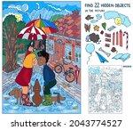 find 22 hidden objects in the...   Shutterstock .eps vector #2043774527