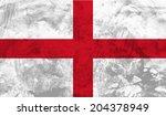 england  english flag on... | Shutterstock .eps vector #204378949