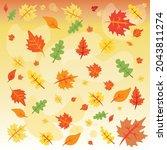 autumn illustration  maple...   Shutterstock .eps vector #2043811274