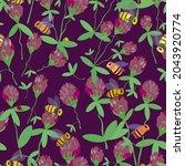 Seamless Pattern Blooming...