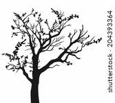 tree | Shutterstock .eps vector #204393364