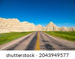 The Road To The Badlands In...