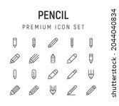 premium pack of pencil line...