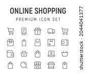 premium pack of online shopping ...