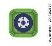car wheel modern icons...   Shutterstock .eps vector #2044162934