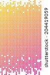 Pixel Graphic In Multicolor