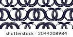 seamless snakes pattern in...   Shutterstock .eps vector #2044208984