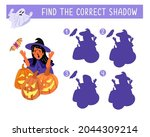 find the correct shadow. happy... | Shutterstock .eps vector #2044309214