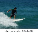 pacific surfer | Shutterstock . vector #2044420
