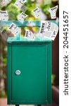 Post Box With Daily Newspapers...