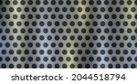 silver perforated metal... | Shutterstock .eps vector #2044518794