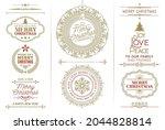 calendar 2021  calendar 2022... | Shutterstock .eps vector #2044828814