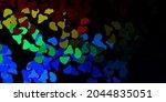 dark multicolor vector template ... | Shutterstock .eps vector #2044835051