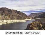 a view of the hoover dam. this... | Shutterstock . vector #20448430
