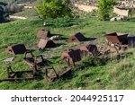 Abandoned Old Rusty Minecarts...