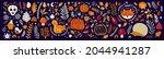 autumn decorative collection... | Shutterstock .eps vector #2044941287
