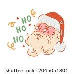 Santa Christmas Card. Santa...