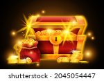gold chest treasure...
