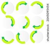 segmented circle  circular...