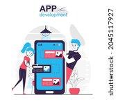 app development isolated...
