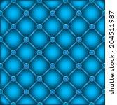 the blue leather furniture dark ... | Shutterstock .eps vector #204511987