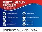 mental health problem first...   Shutterstock .eps vector #2045279567