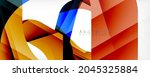 geometric abstract background   ... | Shutterstock .eps vector #2045325884