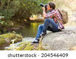 Young photographer...