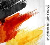 template background.german flag ... | Shutterstock .eps vector #204550729