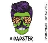 halloween daddy monster... | Shutterstock .eps vector #2045619917