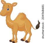 camel cartoon | Shutterstock . vector #204568681