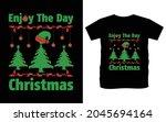 christmas typography vector t...   Shutterstock .eps vector #2045694164