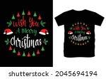 christmas typography vector t...   Shutterstock .eps vector #2045694194