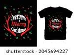 christmas typography vector t...   Shutterstock .eps vector #2045694227