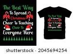 christmas typography vector t...   Shutterstock .eps vector #2045694254