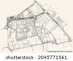 detailed navigation urban...   Shutterstock .eps vector #2045771561