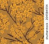 vector background  unusual... | Shutterstock .eps vector #204584554
