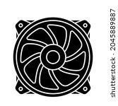 air cooler icon. cooler sign.... | Shutterstock .eps vector #2045889887