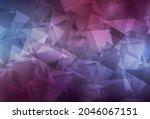 dark purple vector shining...   Shutterstock .eps vector #2046067151