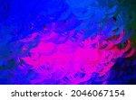 dark pink  blue vector template ...   Shutterstock .eps vector #2046067154