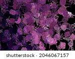 dark purple  pink vector doodle ...   Shutterstock .eps vector #2046067157