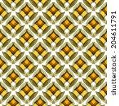 vector seamless patterns. | Shutterstock .eps vector #204611791