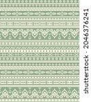boho  tribal  hand drawn repeat ... | Shutterstock .eps vector #2046376241